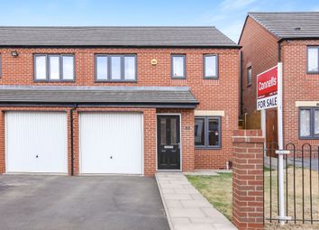 Thumbnail 3 bedroom semi-detached house for sale in Northolt Drive, Ettingshall Place, Wolverhampton