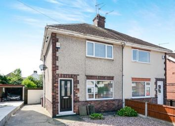Thumbnail 2 bed semi-detached house for sale in Houfton Road, Bolsover, Chesterfield