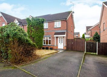 Thumbnail 3 bed property for sale in Wooliscroft Close, Ilkeston