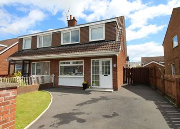 Thumbnail 3 bed semi-detached house for sale in Knights Avenue, Carrickfergus