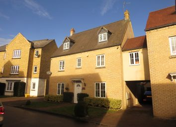 Thumbnail 5 bed link-detached house for sale in Brownset Drive, Kingsmead, Milton Keynes