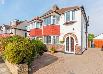 Thumbnail 3 bed semi-detached house for sale in Glebe Gardens, Old Malden, Worcester Park