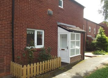 Thumbnail 2 bed end terrace house to rent in Sandhurst Close, Redditch