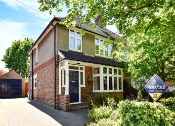 Thumbnail 3 bed semi-detached house for sale in College Ride, Camberley, Surrey