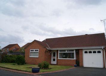 Thumbnail 3 bed detached bungalow for sale in Dunsdale Drive, Cramlington