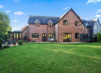 Thumbnail 4 bed detached house for sale in White Barn Close, Willoughby, Rugby