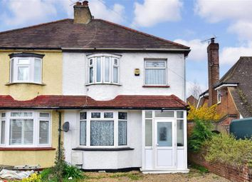 Thumbnail 3 bedroom semi-detached house for sale in Maidstone Road, Wigmore, Gillingham, Kent