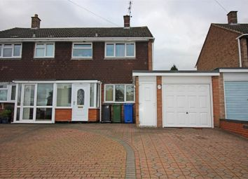 Thumbnail 3 bed semi-detached house for sale in Browns Lane, Tamworth, Staffordshire
