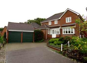 Thumbnail 4 bed detached house for sale in Melton Drive, Taverham, Norwich