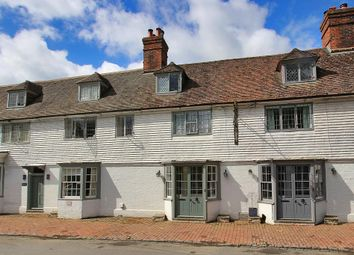 Thumbnail 3 bed terraced house for sale in 1 Old Inn Cottage, High Street, Brenchley, Kent