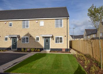Thumbnail 2 bed end terrace house for sale in Ellis Gardens, Off Reach Road, Burwell