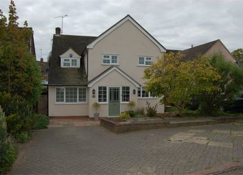 Thumbnail 4 bed detached house for sale in Highmead, Stansted