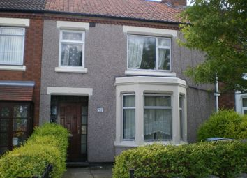 Thumbnail 6 bedroom terraced house to rent in Dane Road, Stoke, Coventry