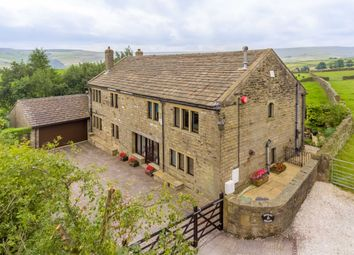 Thumbnail 5 bed barn conversion for sale in Hogley Lane, Holmfirth