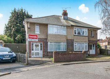 Thumbnail 3 bed semi-detached house for sale in Brookside Avenue, Southampton