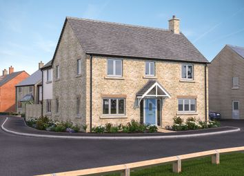 Thumbnail 4 bed detached house for sale in Cote Road, Aston, Bampton
