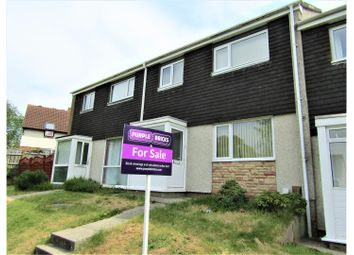 Thumbnail 3 bed terraced house for sale in Chichester Way, Newton Abbot