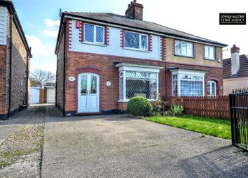 Thumbnail 3 bed semi-detached house for sale in Woad Lane, Great Coates, Grimsby