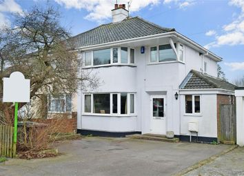 Thumbnail 3 bed semi-detached house for sale in Plantation Lane, Bearsted, Maidstone, Kent