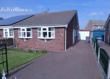 Thumbnail 2 bedroom semi-detached bungalow for sale in Moorfield Drive, Armthorpe, Doncaster.