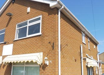 Thumbnail 1 bed flat to rent in South Road, Chapel St. Leonards, Skegness