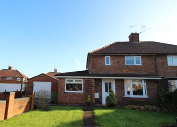 Thumbnail 3 bedroom semi-detached house for sale in Leeside, York