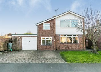 Thumbnail 4 bed detached house for sale in Laburnum Way, Nayland, Colchester
