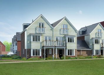 Thumbnail 4 bed town house for sale in The Petworth, Holborough Lakes, Manley Boulevard, Holborough