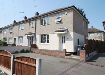 Thumbnail 3 bed end terrace house for sale in Hornsea Road, Oakwood, Derby