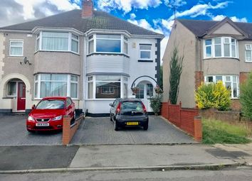 Thumbnail 3 bedroom semi-detached house for sale in Dulverton Avenue, Coventry