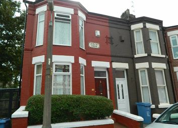 Thumbnail 3 bedroom end terrace house for sale in Airlie Grove, Liverpool