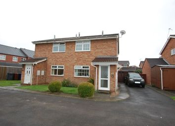 Thumbnail 1 bed flat to rent in Dallow Close, Burton Upon Trent, Staffordshire