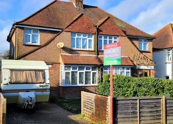 Thumbnail 3 bed semi-detached house for sale in Roman Road, Steyning