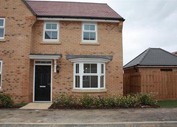 Thumbnail 3 bed semi-detached house to rent in Baumgartner, Godmanchester, Huntingdon