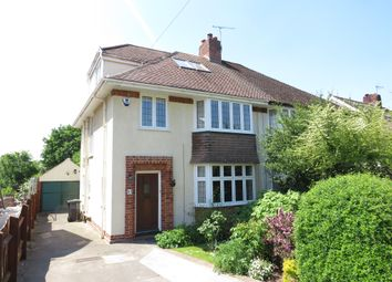 Thumbnail 4 bed semi-detached house for sale in Druid Stoke Avenue, Stoke Bishop, Bristol