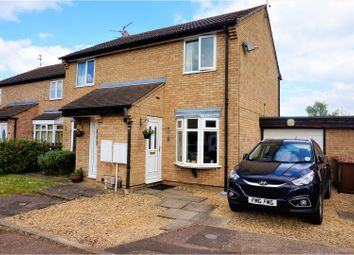 Thumbnail 2 bed semi-detached house for sale in Uldale Way, Peterborough