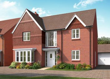 "Thumbnail 4 bed detached house for sale in ""The Rutherford"" at Boorley Green, Winchester Road, Botley, Southampton, Botley"
