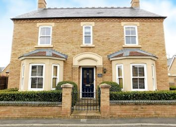Thumbnail 4 bed detached house for sale in Faraday Gardens, Fairfield, Hitchin