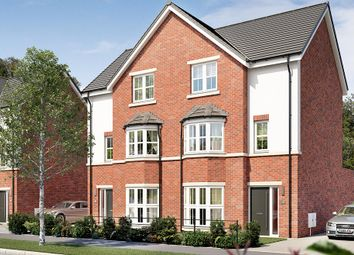 "Thumbnail 4 bed town house for sale in ""The Mowbury"" at Elms Way, Yarm"