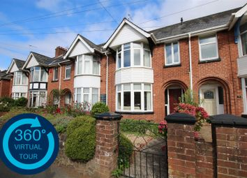 Thumbnail 3 bed terraced house for sale in Mount Pleasant Road, Exeter