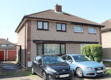 Thumbnail 3 bed semi-detached house for sale in Vernon Avenue, Enfield