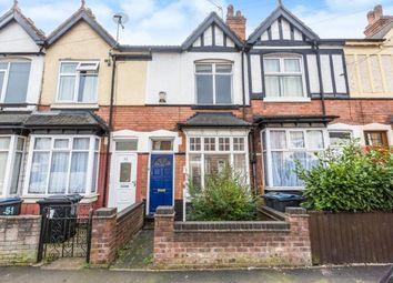 Thumbnail 3 bedroom terraced house for sale in Trafalgar Road, Erdington, Birmingham, West Midlands