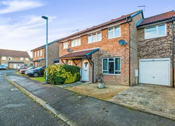 Thumbnail 4 bed semi-detached house for sale in Saleby Close, Lower Earley, Reading