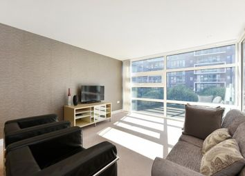Thumbnail 1 bed flat to rent in Chelsea Bridge Wharf, Battersea