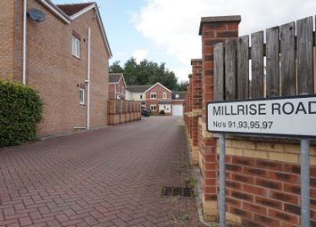 Thumbnail 4 bed semi-detached house to rent in Millrise Road, Mansfield
