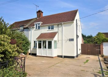 Thumbnail 3 bed semi-detached house for sale in Coach Road, Colchester