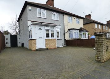 Thumbnail 2 bed semi-detached house for sale in Third Avenue, Enfield