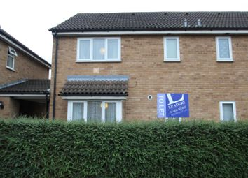 Thumbnail 1 bed terraced house to rent in Derwent Close, St. Ives, Huntingdon
