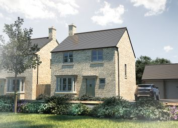 "Thumbnail 4 bed detached house for sale in ""The Tattershall"" at Cirencester Road, Fairford"