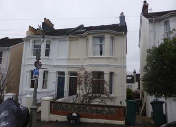 Thumbnail 1 bed flat to rent in Havelock Road, Brighton